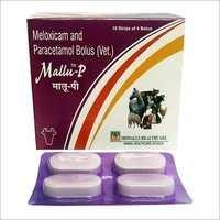 Mallu P Meloxicam and Paracetamol Bolus