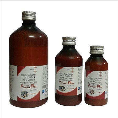 Sodium Picosulfate, Liquid Paraffin and Milk of Magnesia