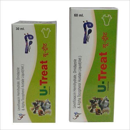 Levofloxacin Hemihydrate and Ornidazole Aplha Tocopherol Acetate Liquid