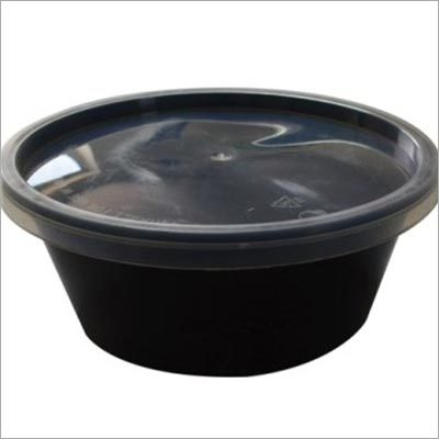 Black Microwave Container