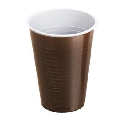 Brown Plastic Cup
