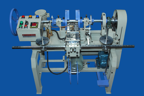 Semi Automatic Shoelace Tipping Machine