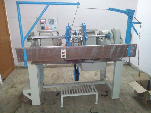 Aluminium File Lace Tipping Machine