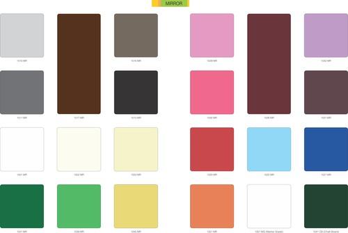 Solid Color High Pressure Laminates