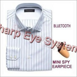 Spy Bluetooth Shirt Earpiece