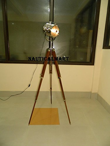 Marine Tripod Floor Lamp Spot Search Light Home Decor
