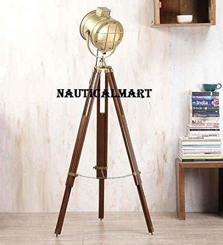 Designer Tripod Floor Lamp Search Light Home Decor
