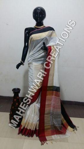 Silk Border Handloom Saree