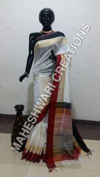 Border Silk Handloom Saree