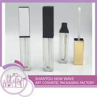 New Lip Gloss / Brilliant Tube / Container with Comppe