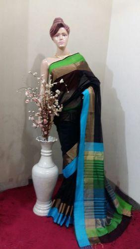Resham Border Handloom silk sarees