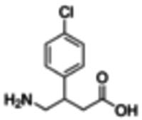 Baclofen solution