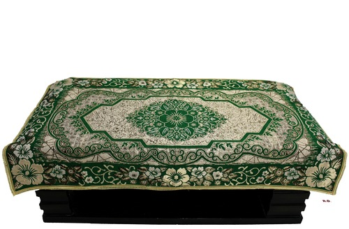 Green Designer Table Cover