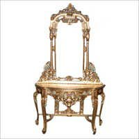 Wooden Carved Dressing Chairs