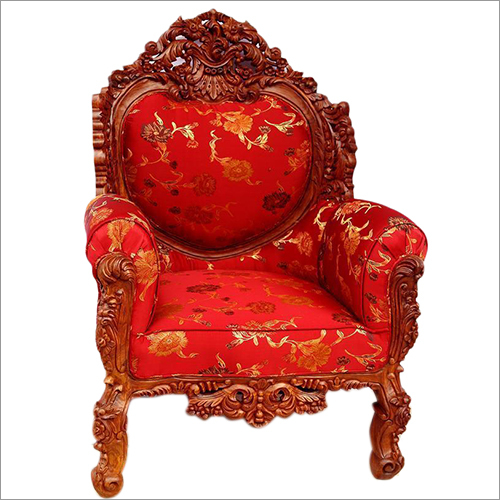 Wooden King Chair