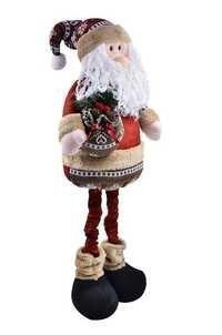 Qubic Inc Christmas Santa Claus Doll
