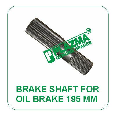 Brake Shaft For Oil Brake 195 mm John Deere