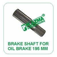 Brake Shaft For Oil Brake 195 mm