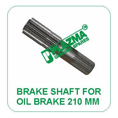 Brake Shaft For Oil Brake 210 mm John Deere