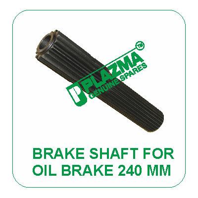 Brake Shaft For Oil Brake 240 mm John Deere