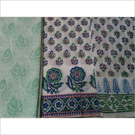 Cotton Printed Suit