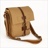 Canvas Tab Sling Bag