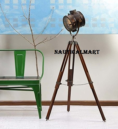 Designer Tripod Floor Lamp Search Light For Living Room