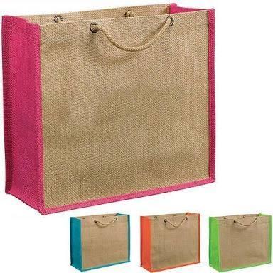 Jute Gusseted Bags