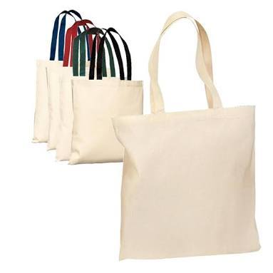 Colored Handled Cotton Bags