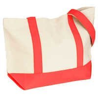 Cotton Snap Tote Bag