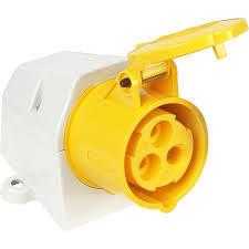 110v Yellow Sockets