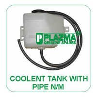 Coolent Tank With Pipe N/M Green Tractor