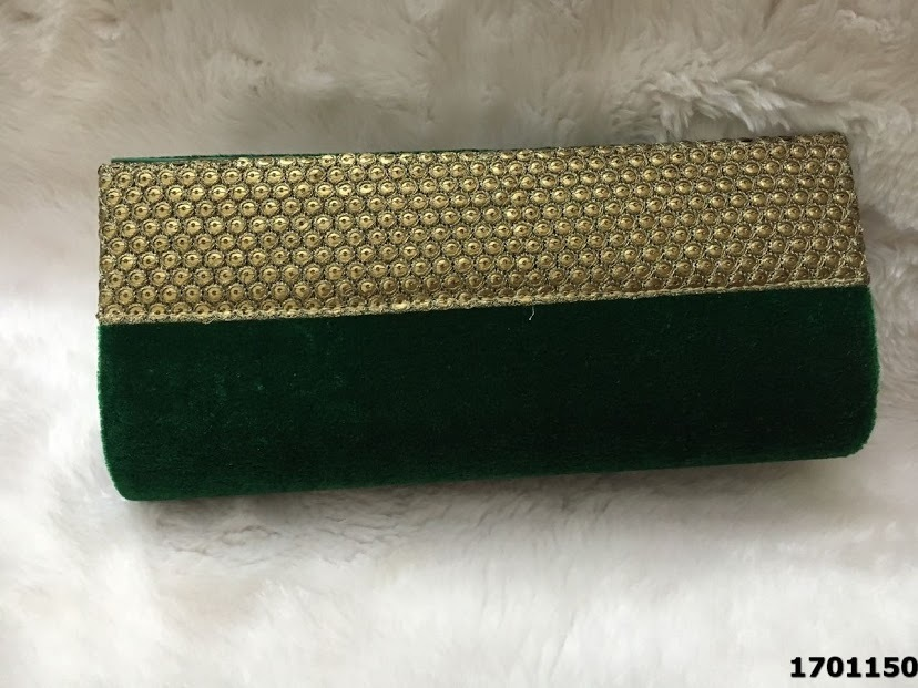 Designer Velvet Clutch Evening Bag
