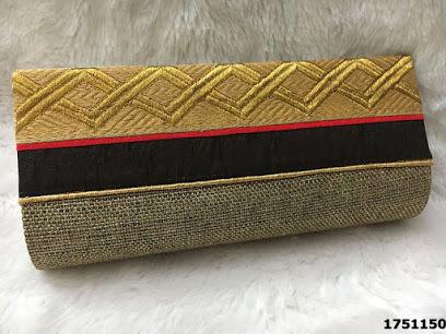 Elegant Designer Clutch Jute Bags/ Evening Bags
