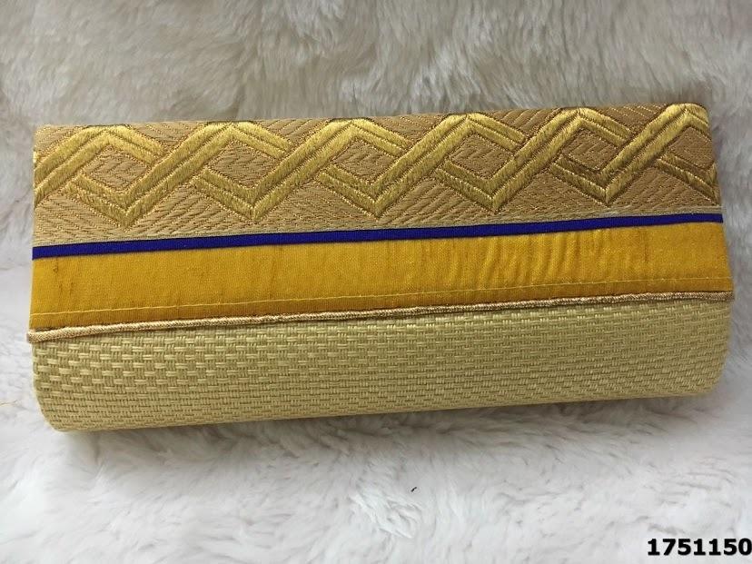 Designer Stylish Jute Clutch Bags