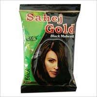 Black Mehndi for Hair