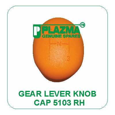 Gear Lever Knob Cap 5103 RH Green Tractor