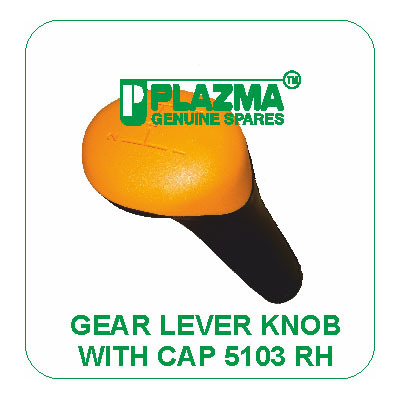 Gear Lever Knob With Cap 5103 RH Green Tractor