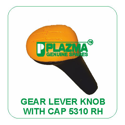 Gear Lever Knob With Cap 5310 RH Green Tractor