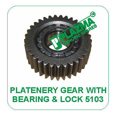 Platenery Gear With Bearing & Lock 5103 John Deere