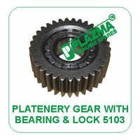 Platenery Gear With Bearing & Lock 5103  Green Tractor