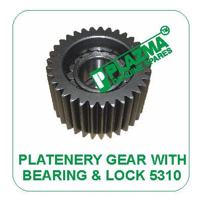 Platenery Gear With Bearing & Lock 5310 John Deere