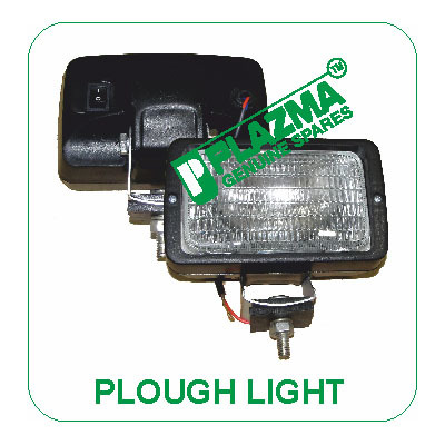 Plough Light Green Tractor