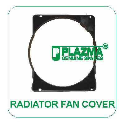 Radiator Fan Cover Green Tractor