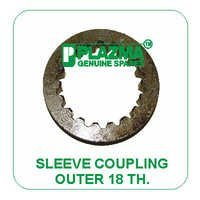 Sleeve Coupling Outer 18 TH. Green Tractor