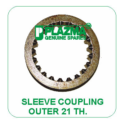 Sleeve Coupling Outer 21 TH. Green Tractor
