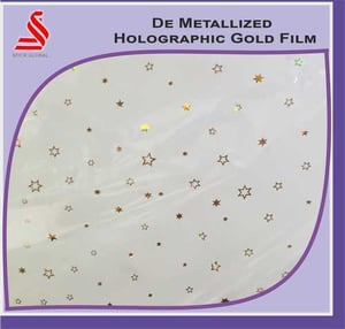 De Metalised Window Holographic Polyester Film