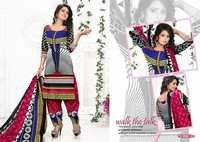 Printed Cotton Dress Materials Jetpur