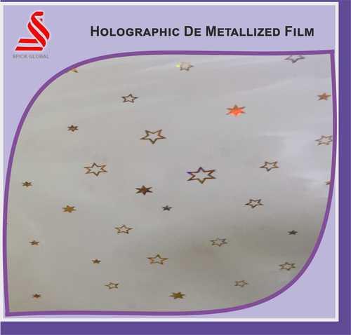 Holographic Transparent De Metalised Window Film