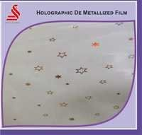 Holographic Transparent De Metalised Window Film